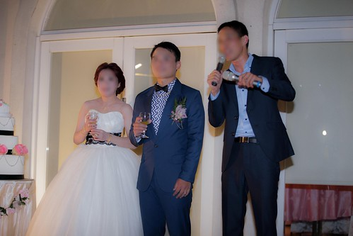 推薦婚宴場地:台南商務會館,米老鼠米奇的特殊結婚婚禮風格新人總敬酒