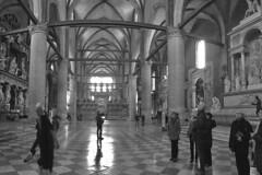 Venice - Basillica dei Frari inside