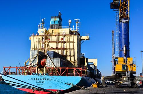 Clara Maersk, Aarhus