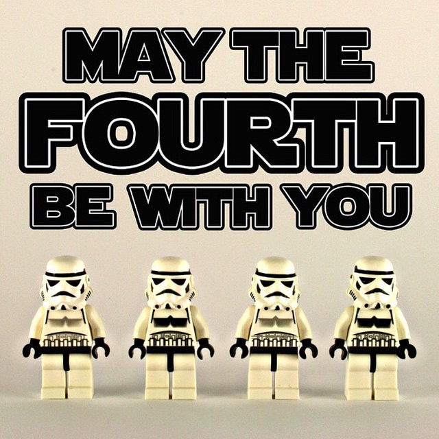 Happy Star Wars Day!! #maythefourthbewithyou by bartlewife