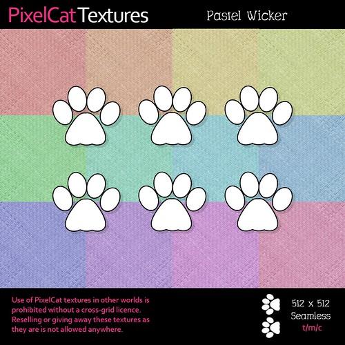 PixelCat Textures - Pastel Wicker