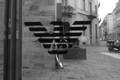 Milan - Armani Caffe symbol