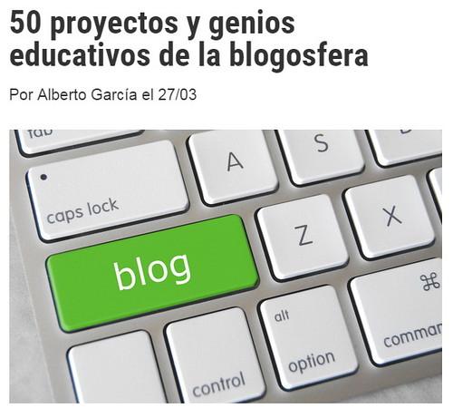 50 proyectos y genios educativos de la blogosfera
