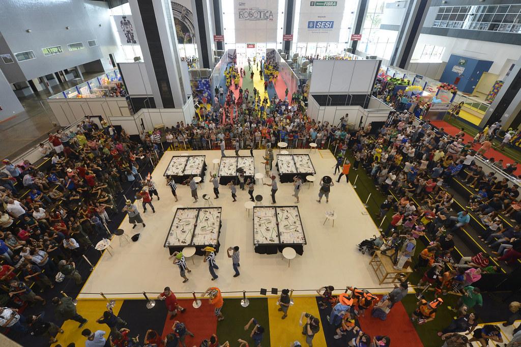 Torneio de Robótica FLL 2015, etapa nacional