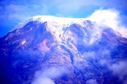 mountain del sunrise volcano colombia andes nevado tolima