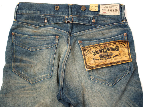 RRL / Straight-Leg Oregon Jean