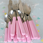 Pink Cutlery 1