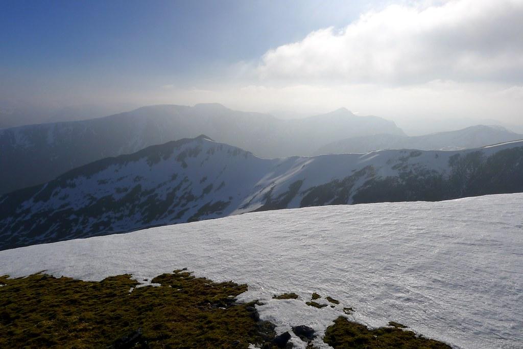 Attadale Hills from Sgurr a'Chaorachain