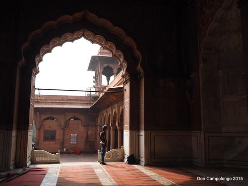 04 Mosque in Old Delhi
