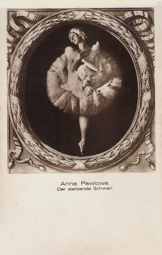 Anna Pavlova in The Dying Swan