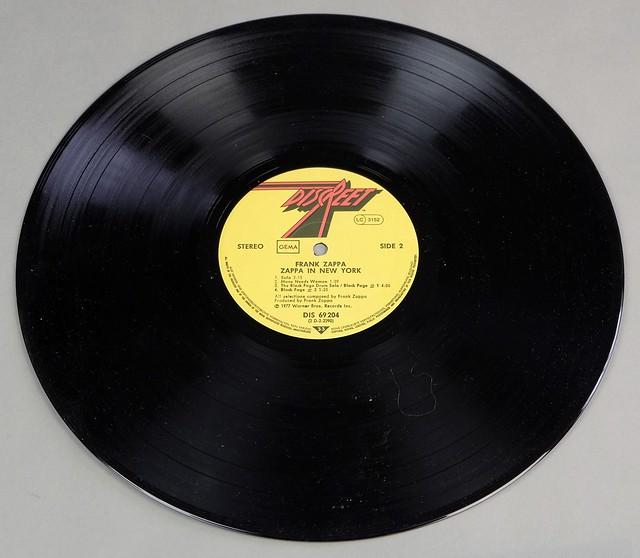 "FRANK ZAPPA ZAPPA IN NEW YORK DISCREET 12"" LP VINYL"