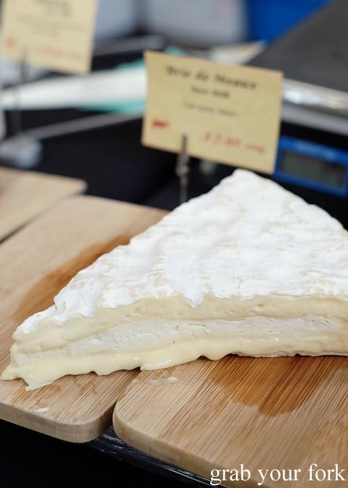 Brie de Meaux French raw milk brie at Le Marche Francais at City Market, Wellington