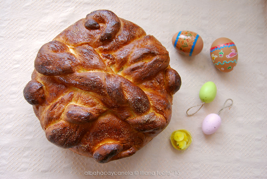 Slovak Paska - Easter bread