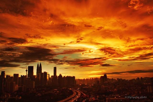 P4020089_Kuala Lumpur sunset
