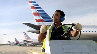 American Airlines trabajador rampa (American Airlines)