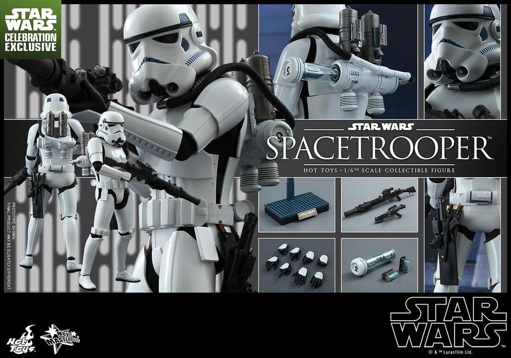 Hot Toys – MMS291 – 星際大戰:四部曲 曙光乍現【太空白兵】1/6 比例 Star Wars Spacetrooper
