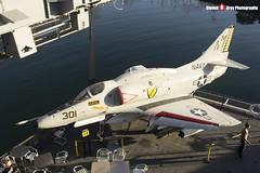 154977 NM-301 - 13793 - US Navy - McDonnell Douglas A-4F Skyhawk - USS Midway Museum San Diego, California - 141223 - Steven Gray - IMG_6611