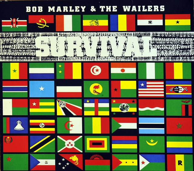 BOB MARLEY & THE WAILERS SURVIVAL original 1st pressing 1979