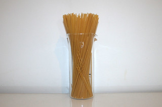 01 - Zutat Spaghetti / Ingredient spaghetti