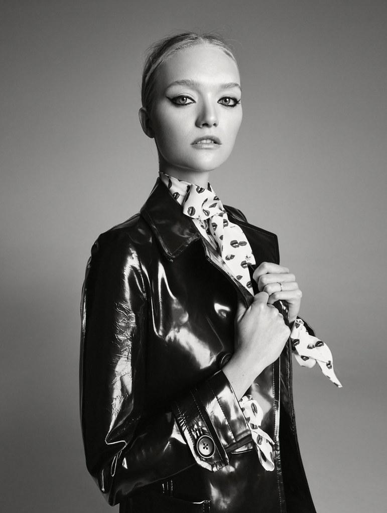 Джемма Уорд — Фотосессия для «Elle» AU 2016 – 12