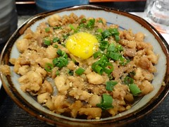 Soboro Bowl @Tori-Shige @Shimbashi, Tokyo