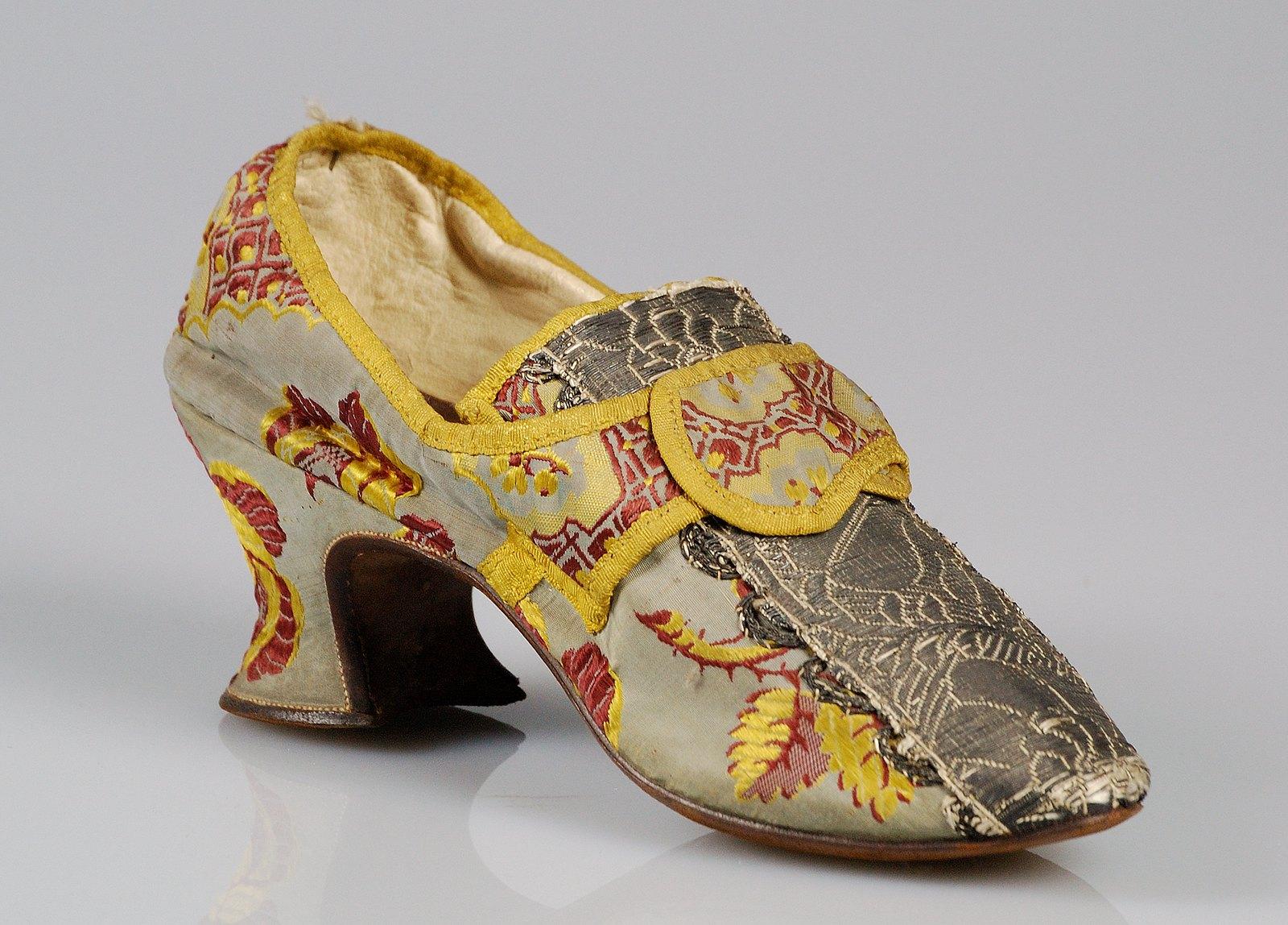 1780. British. Silk