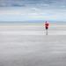 One man beach by michaelinvan