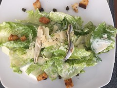 Caesar with Anchovies