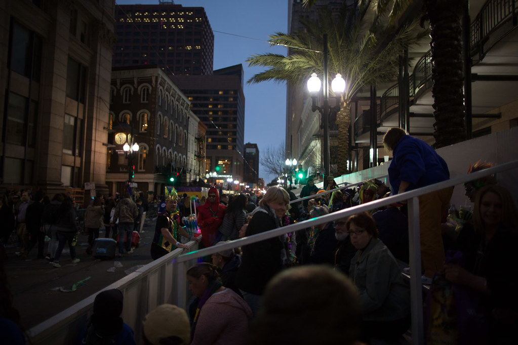 Place St. Charles grandstands during Mardi Gras | Krewe of Endymion