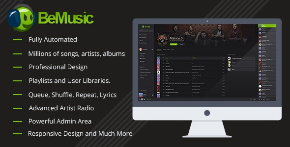 BeMusic v2.0.7 – Music Streaming Engine