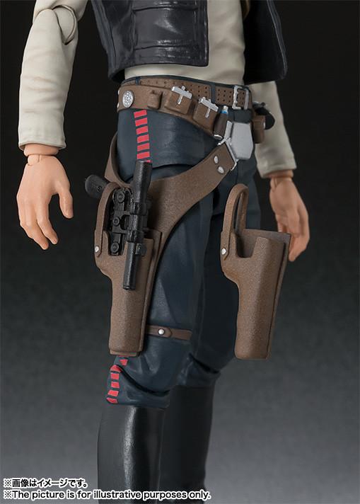 S.H. Figuarts 《星際大戰:曙光乍現》韓索羅 《Star Wars: A New Hope》Han Solo