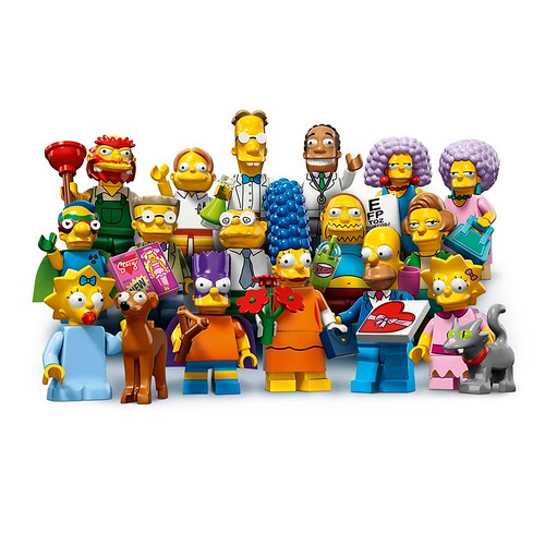 LEGO The Simpsons Collectable Minifigures Series 2