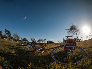 Every day you ride bikes to fly a kite is a good day, no way around it http://store.oceanaircycles.com/