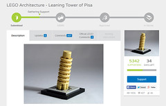 LEGO ideas project: Leaning Tower of Pisa
