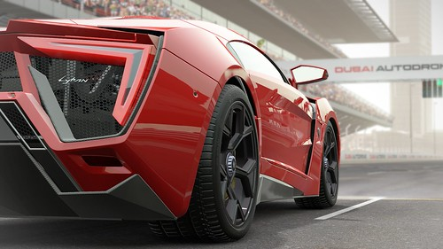 Project CARS Lykan Hypersport