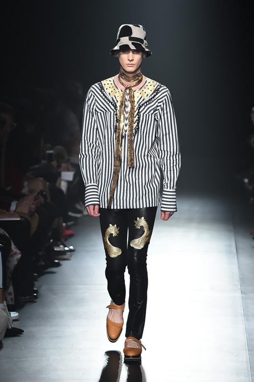 FW15 Tokyo DRESSCAMP011_Tim Meiresone(Fashion Press)