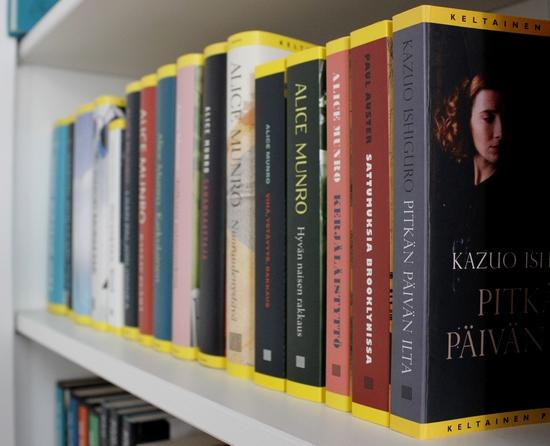 keltaisten kirjojen maaliskuu