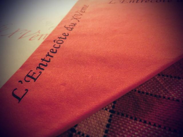 用中文遊巴黎-L'Entrecôte des Halles-法式 (5)