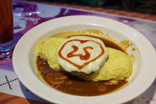 接著就是Nico 的蛋包飯~ 還有 25 是nico 的諧音