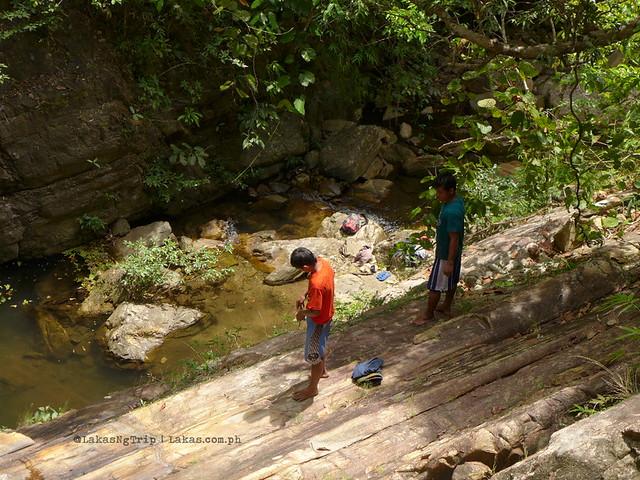 Maqueregaen Falls in Roxas, Palawan
