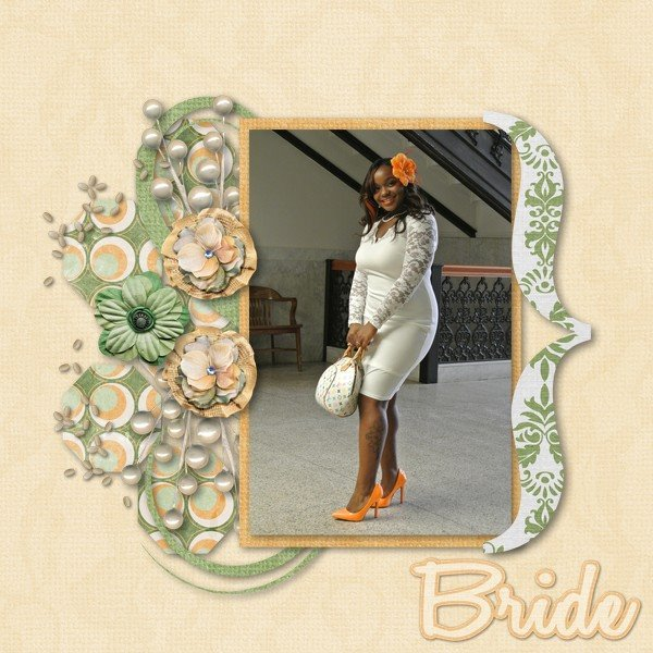 "Arizona Girl kit ""Groovy Bride"""