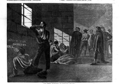 Union prisoners in Richmond