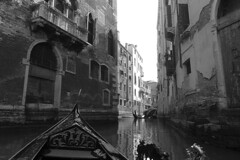 Venice - Gondola ride view 4