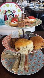 Afternoon tea. Cliffs Pavilion. Southend. 28 Mar'15