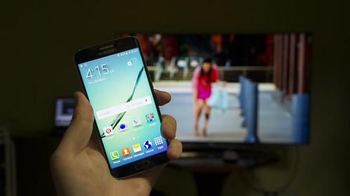 Samsung Galaxy S6 Edge pristatymas Lietuvoje
