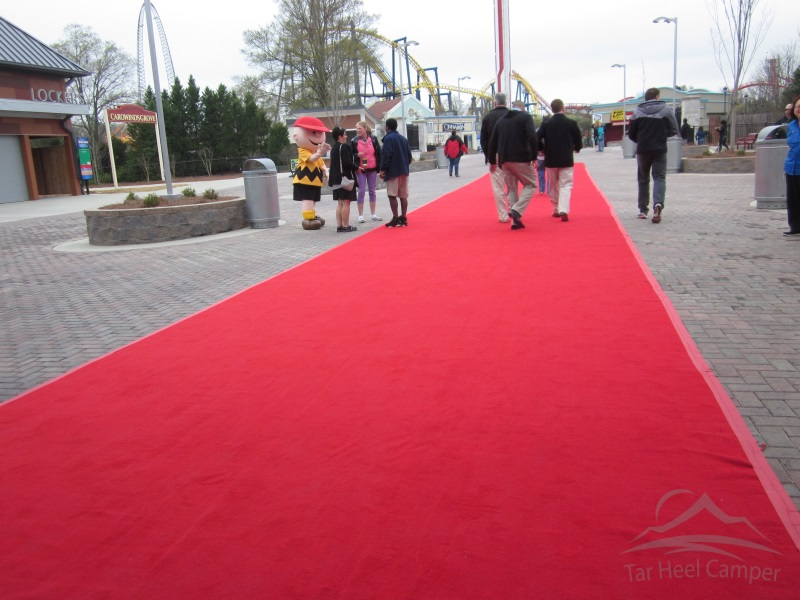 Fury 325 Opening - Red Carpet