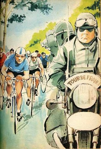 Les Six compagnons au Tour de France, by Paul Jacques BONZON
