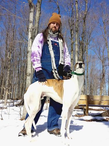 Cane and I at Knox Farm