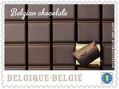 07 Le chocolat belge Timbre 5