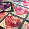 Quilt top & oversized pillow pieced, backing ordered and now deciding what's next. . .ladies of #stashbee #stashbee2015 #hive2 I can't wait to show you how awesome this looks!  :kissing_heart: